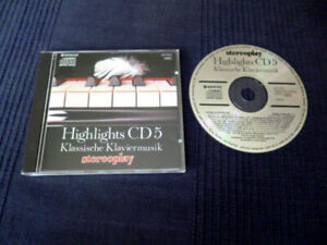 CD Stereoplay Highlights 5 Klassische Klaviermusik Chopin Mozart Beethoven Sanyo