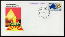 1981 Relief #4 Newmerella Victoria Postmark Apex FDC Cover Stamp Australia