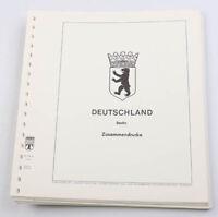Berlin postfrische Sammlung Zusammendrucke auf Lindner-T-Falzlos-Blätter