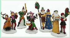 """Dept 56 """"Here We Come A Wassailing"""" Set Of 5 Dickens Village 58410 - Mint"""
