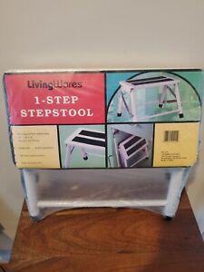 Vintage LivingWares 1-Step Stepstool - NOS