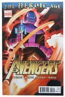 Avengers 1 Heroic Age 2nd Print Variant Bendis First App of Azari T'Challa 2010