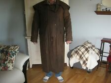 Drizabone classic heavy waxed cotton riding coat sz. Xl or 6