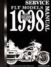 1998 HARLEY-DAVIDSON FLT SERVICE MANUAL -FLTR-FLHR-FLHT-FLHTC-FLHTCUI