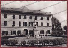 ALESSANDRIA CITTÀ 109 CASTELLO MARENGO - NAPOLEONE Cartolina FOTOGR. viagg. 1964