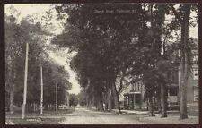 Postcard FREDRICTON New Brunswick/CANADA  Church Street Houses/Homes view 1904?