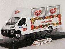 FIAT DUCATO FOOD TRUCK BAR A SOUP' LIEBIG ELIGOR 1/43 Ref 114898