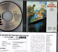 The Land Before Zeit Ost James Horner / Diana Ross Japan CD 25p2-2496 W/Insert