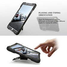 iPad 5th & 6th generation shockproof case + rotating stand & screen protector.