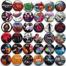 MUSE Button Badges Pins Showbiz Origin of Symmetry The Resistance Cave Lot of 36