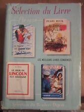 Sélection du Livre Vol III été 1958: Jon Cleary-Pearl Buck-Jim Bishop-J.M. Scott