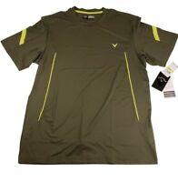 Callaway Opti-Dri Stretch Golf Jersey Shirt Polyester Spandex PGA Tour Large
