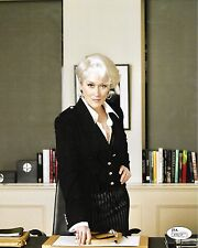 Meryl Streep Devil Wears Prada Autographed Signed 8x10 Photo JSA COA