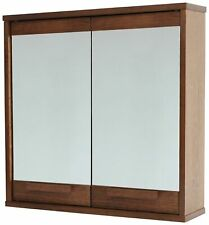 Argos Home Cranbrook Solid Pine Mirrored Wall Cabinet