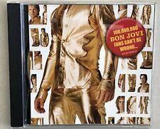 Bon Jovi 100,000,000 FANS CAN'T BE WRONG Box Set Sampler promo cd 2004 10 songs
