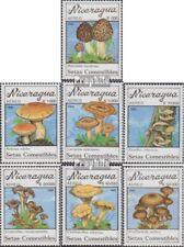 Nicaragua 3001-3007 (complète edition) neuf avec gomme originale 1990 Champignon