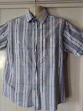 Mens Duchamp Shirt, M, Short Sleeves, Cotton