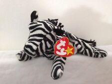 TY Beanie Babies - Ziggy The Zebra *RARE* Indonesian Version PVC Pellets
