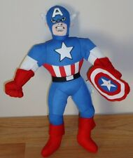 "Marvel Comics CAPTAIN AMERICA 13"" stuffed plush toy doll"
