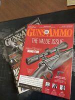 Guns And Ammo Magazine Lot Of 2. 7/2016 3/2018