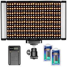 Neewer Kit Regulable Bi-color LED Luz de Vídeo en Cámara 280 LED Bombillas