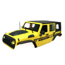 Xtra Speed Jeep Hard Plastic Body Kit 313mm Ver.2 SCX10 RC4WD Yellow #XS-59765AY