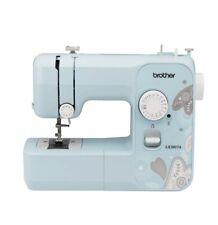 BRAND NEW Brother Full-Size Sewing Machine 17 Stitch LX3817A Aqua Blue Paisley