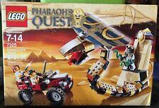 Lego Pharaoh's Quest Cursed Cobra Statue 7325 NEW MIB MISB SEALED
