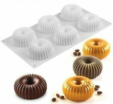 Cake Mold For Baking Silicone Decorating Bakeware Mousse Pastry Dessert Moulds