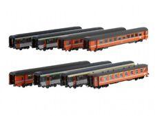 ModelsWorld MW1802 SNCB/SNCF ZugSet 8 Wagen Paris-Amsterdam VTU + I2 Ep4 NEU+OVP