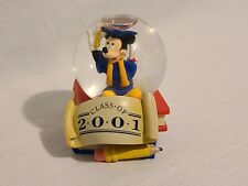 New listing Mickey Mouse Class Of 2001 Water Globe- Disney Store Rare Hard 2 Find Graduation