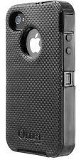 Otterbox Commuter Series BLACK Rugged Case & Belt Holster for Apple iPhone 4 4S