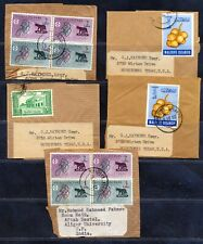 MALDIVES ISLANDS 1960 's STAMP ISSUES USED ON PIECE. A507
