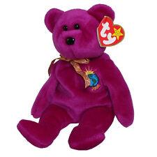 Ty Beanie Babies Millennium Bear Birthday January 1 1999
