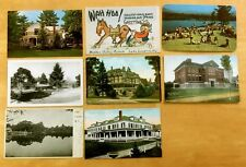 Lot of 8 Antique & Vintage Postcards ALL LUZERNE, NY 1906-1972 New York