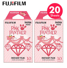 2 Pack Pink Panther Fujifilm Instax Mini Instant Film For Mini 7s 25 50s 90 SP-1