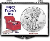 Lot of Ten, Father's Day American Silver Eagle Gift Displays