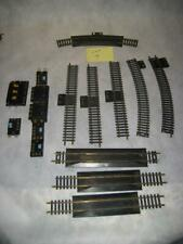 Lot 4 Track Connectors Switches Brass HO Scale Atlas Train Track