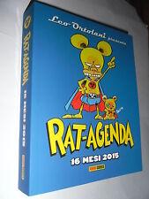 RAT AGENDA 2015 16 Mesi Leo Ortolani Rat-Man Ratman Rat-Agenda 15 Panini Comics