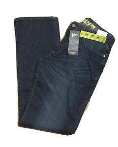 LEE EXTREME MOTION Jeans Regular Fit Bootcut Leg Stretch Flex Waist  Cruz Blue