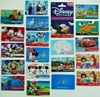 DISNEY Gift Card LOT of 20 Sheep, Frozen, Perry, Princess,Train, Dumbo- No Value