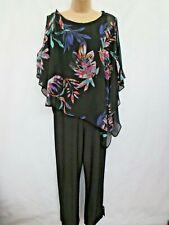 Women Ladies Floral Print Chiffon Hem Cami Playsuit Tail Long Hem length UK size