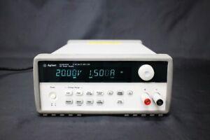 Agilent E3640A 30W Power Supply 8V, 3A / 20V, 1.5A