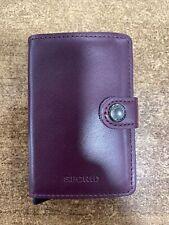 secrid mini wallet Original Bordeaux
