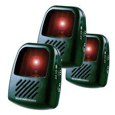 3x ISOTRONIC Marderschreck batteriebetriebener Schutz gegen Tiere 3 Frequenzen