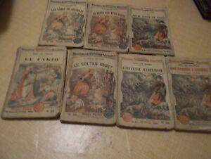 Louis Noir. Voyages-Explorations-Aventures: lot de 7 éditions originales.
