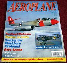 Aeroplane Monthly 1996 May Folland,Meteor,Blackburn Firebrand,Jungmann,Anson