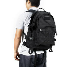 40L Outdoor Molle Military Tactical Backpack Rucksack Trekking Bag Black RJ2O