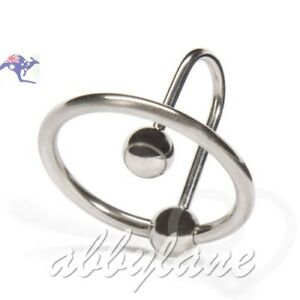 Glans Ring Cockring 25mm Sperm Stopper Erection Enhancer Stainless Steel