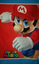 Personalize - Super Mario Nintendo Wii Crib Quilt Blanket Throw Toddler Child